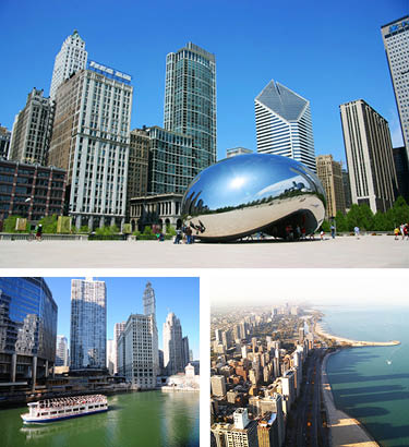 Chicago Bus Tours from Toronto - frequent departures - Comfort Tour