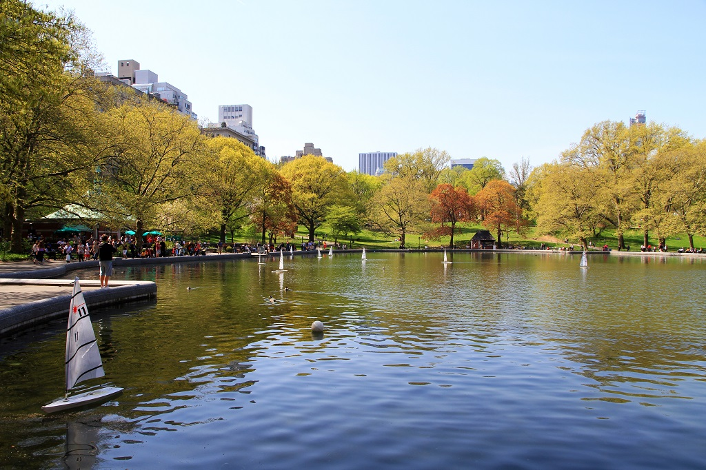 Central Park Conservatory Pond